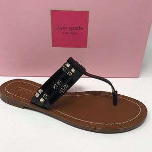 New$120 Kate spade sandal 7.5 black wholesale